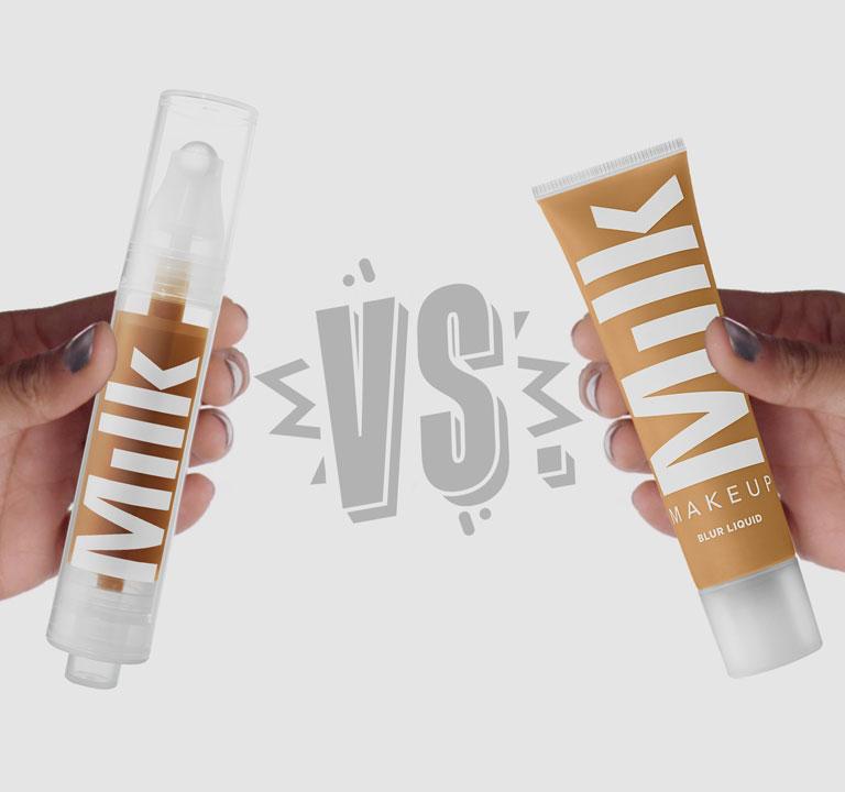 Sunshine Skin Tint vs. Blur Liquid Matte Foundation