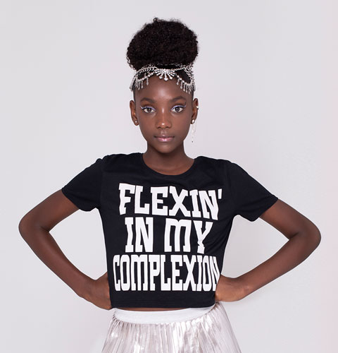 The Powerful Message Behind This 12-Year-Old's Clothing Line