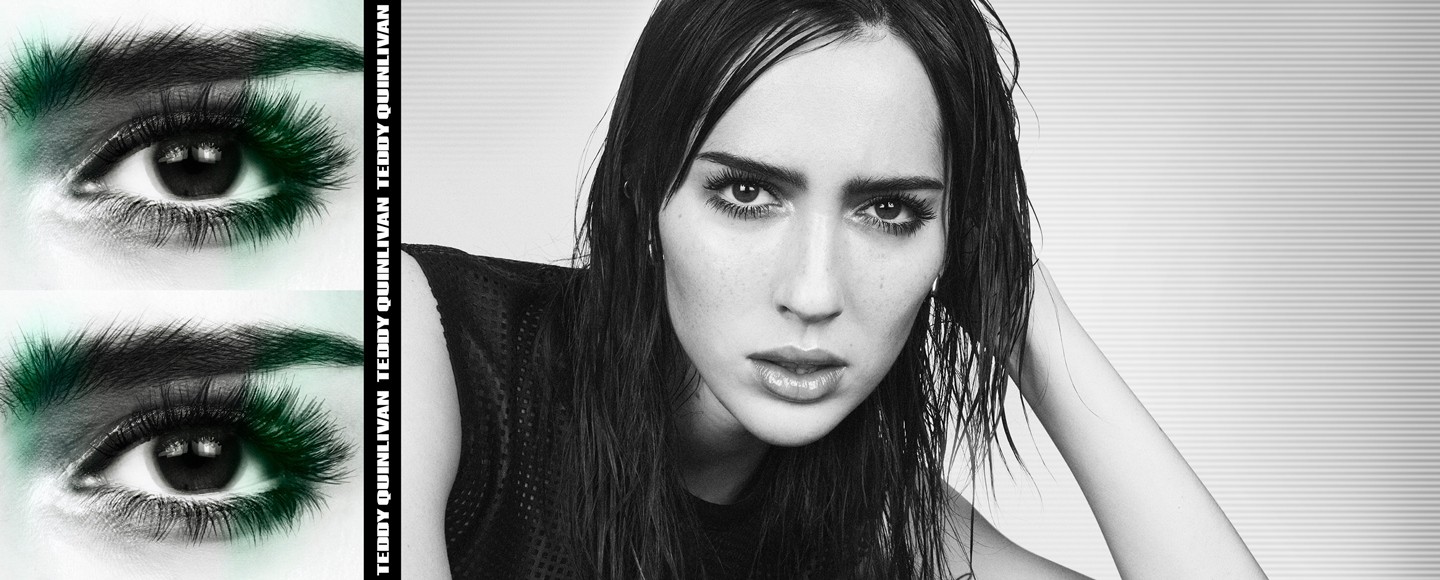 Teddy Quinlivan, the New Face of KUSH Mascara, Has Some Thoughts
